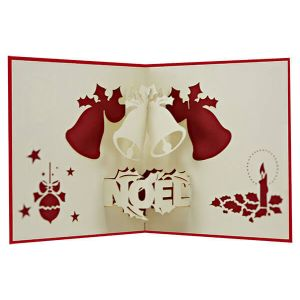 Image De Noel 3d.Xmas Noel 3d Card Pop Up Card 3we Popcards